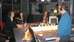 Dr. Richards with two other past AAFP Presidents, Dr. Ilona Rodan and Dr. Jane Brunt talk a few years back on WGN Radio.