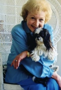 Pet expert Steve Dale talks with Betty White
