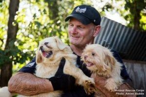 Scotlund Haisley, Animal Rescue Corps saves more, photo by Aimee Stubbs