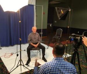 Jaak Panksepp is interviewed by Steve Dale at American College of Veterinary Behaviorists Symposium