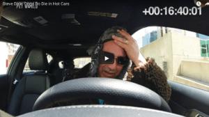 Pet expert Steve Dale in a hot car