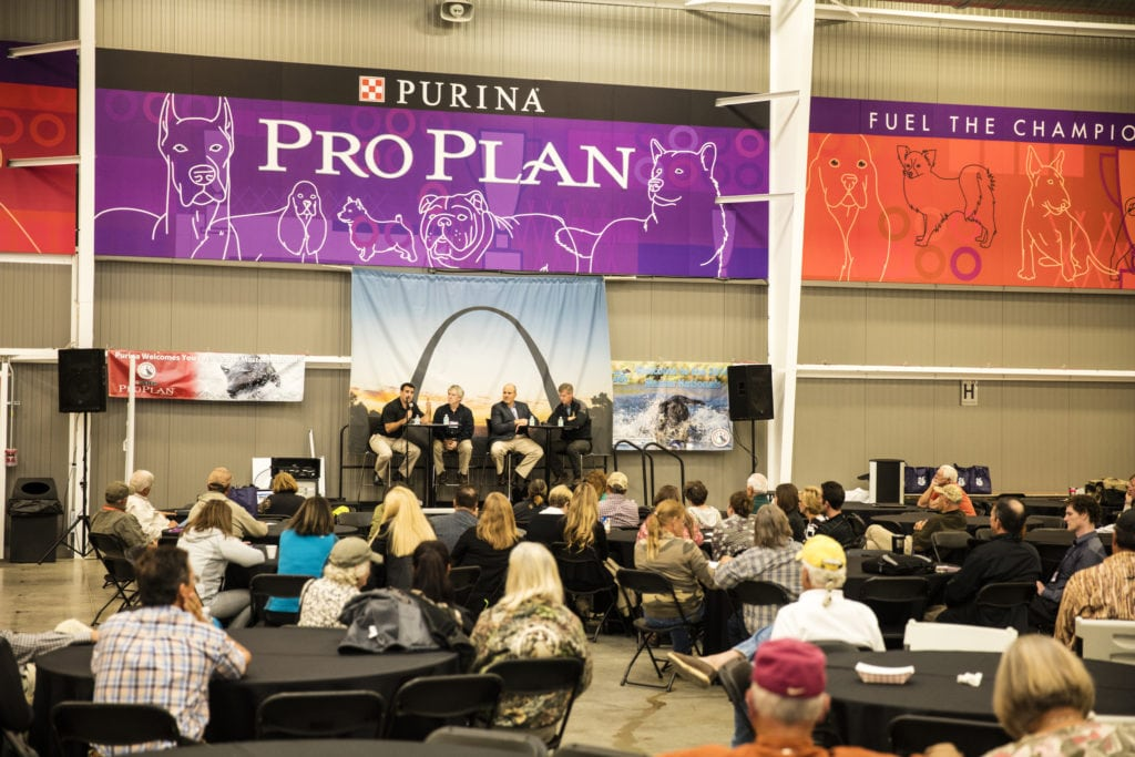 Pet expert Steve Dale reports form Purina Canine Sports Medicine Symposium