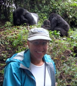 Tourists play a significant role in supporting protection of the mountain gorilla