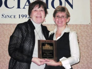 Darlene awarded the Winn Feline Foundation Media Appreciation Award in 2009