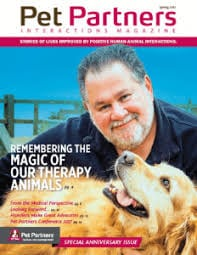 Pet expert Steve Dale writes about Pet Partners National Therapy Animal Day