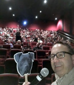 Steve Dale selfie with about half of the theater at The Champions screening in Chicago. The film is being screened around the country, supported by Best Friends
