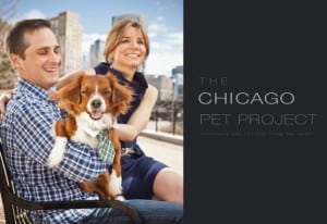 Tom Negovan, WGN-TV news co-anchor, and Susanna Negovan, Editor and Publisher of Splash, with their dog Gus.