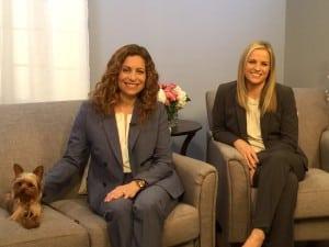 Satellite Media Tour with Dr. Natalie Marks and Dr. Patricia DeLaMora (r)