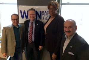 Aldermen James Cappleman (46th ward), Pat Dowell (3rd Ward) and Ariel Reboyras (30thWard) appear on thei #chicagoproud podcast