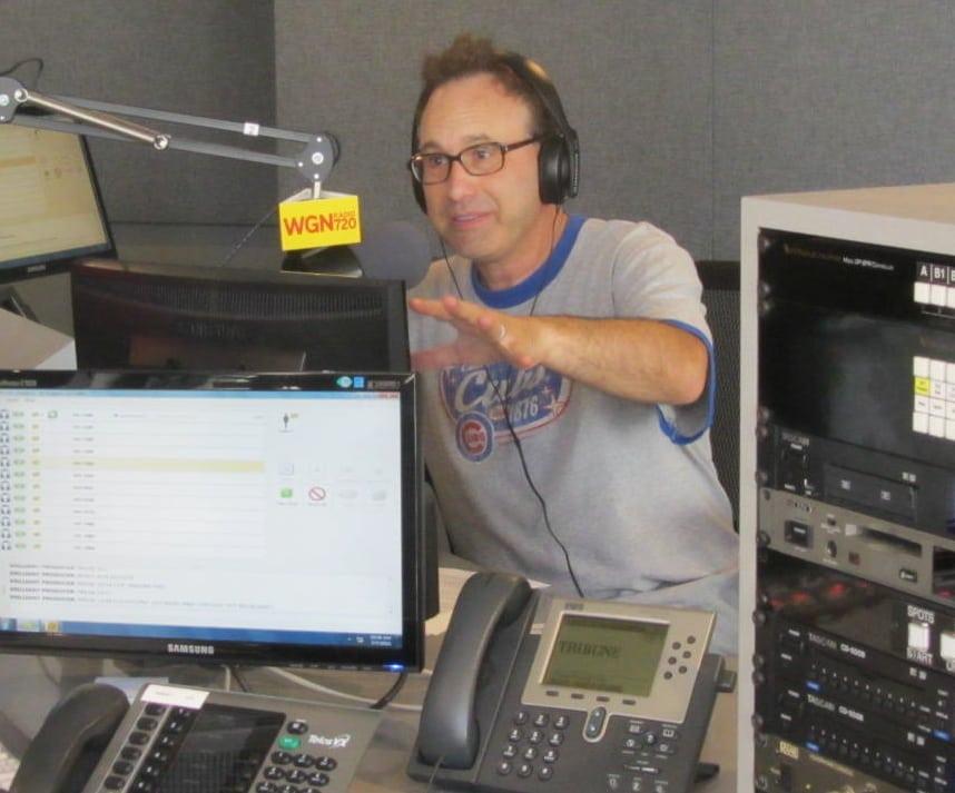 Steve Dale talking pets on WGN Radio