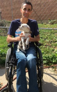 Nick Sposato (38) is a huge supporter of Chicago Animal Care & Control, has always been