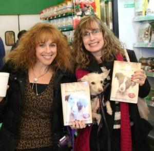 At a Decoding Your Dog book signing