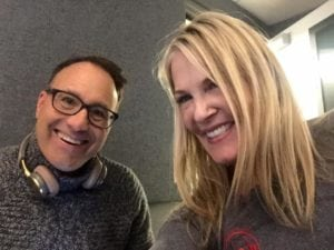 Steve Dale with Tricia Montgomery of K9 Fit Clubs on WGN Radio