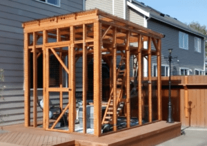 This catio is larger than a New York City studio