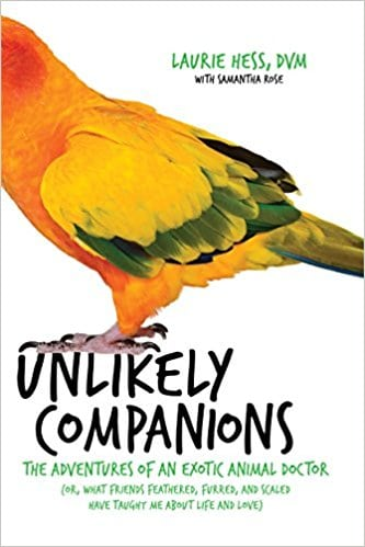 """Steve Dale talks with Dr. Laurie Hess about her book """"Unlikely Companions"""""""