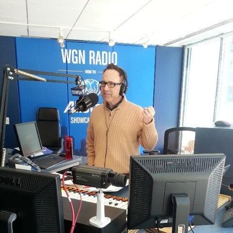 On WGN radio