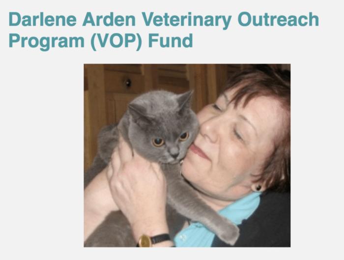 Darlene Arden created a fund to help diagnose ovarian cancer much sooner