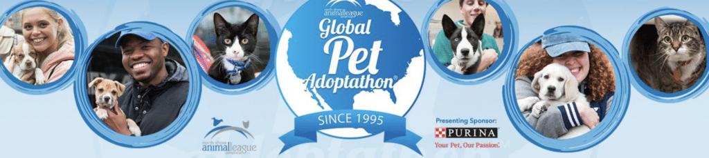 Global Pet Adaoptathon sponsored by Purina