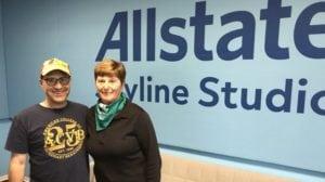 Steve Dale and Vallie Szymanski on WGN radio on dogs detecting ovarian cancer