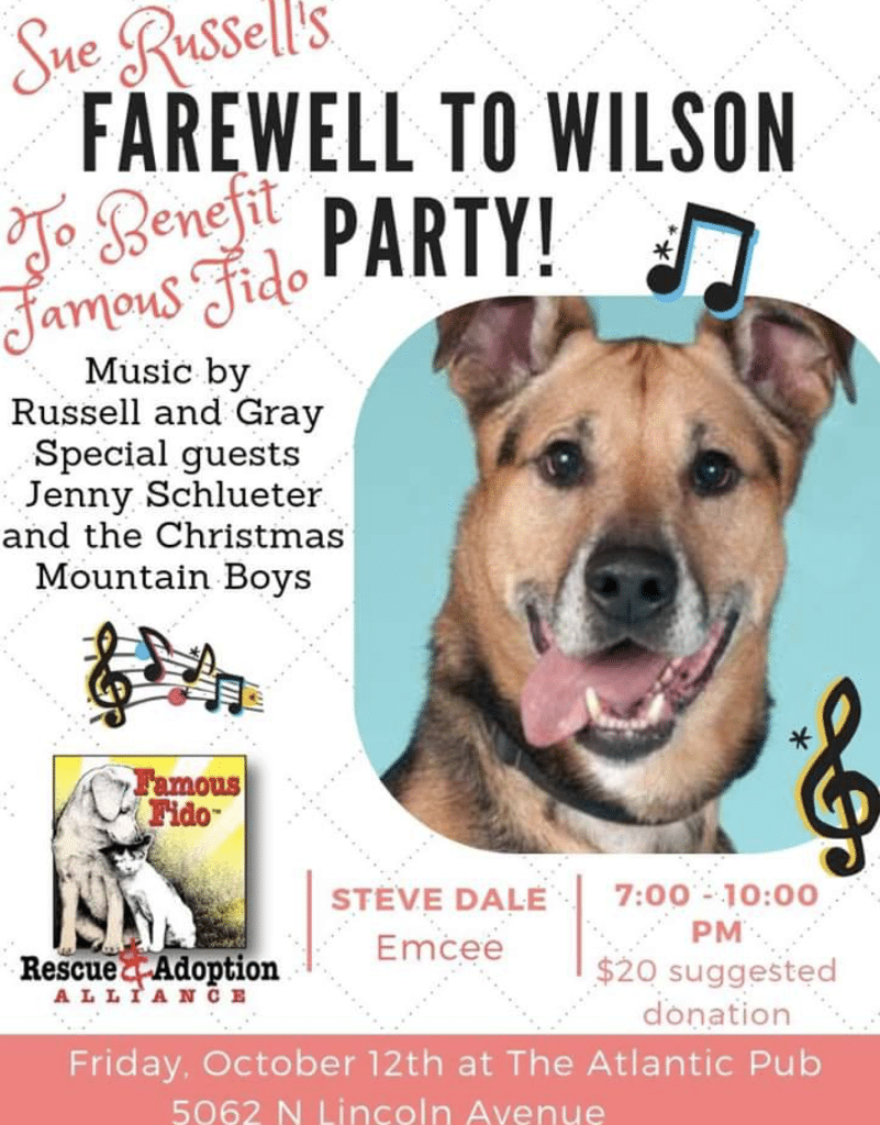 benefit for Famous Fido