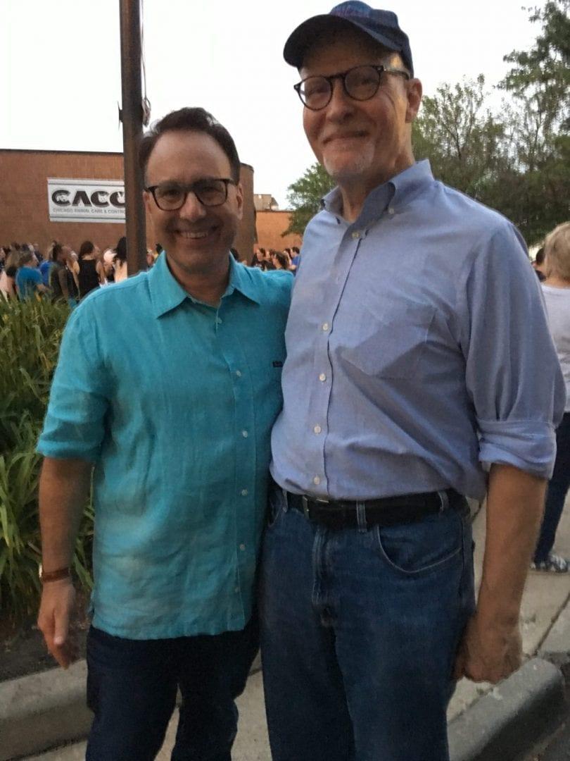 Paul Vallas and Steve Dale on WGN radio