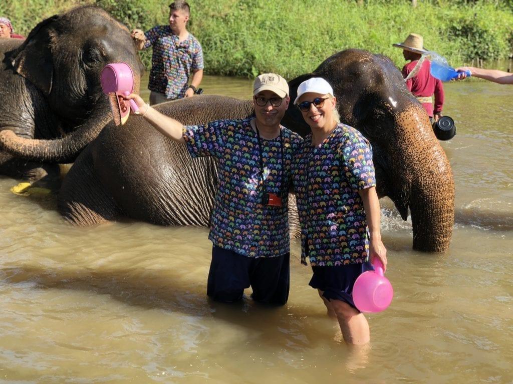 Visting Kanta elephant sancutary