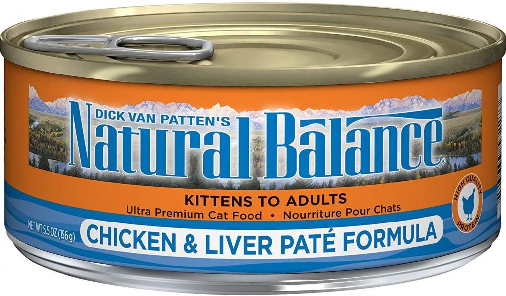 Natural Balance Chicken and Liver Pate Front Label