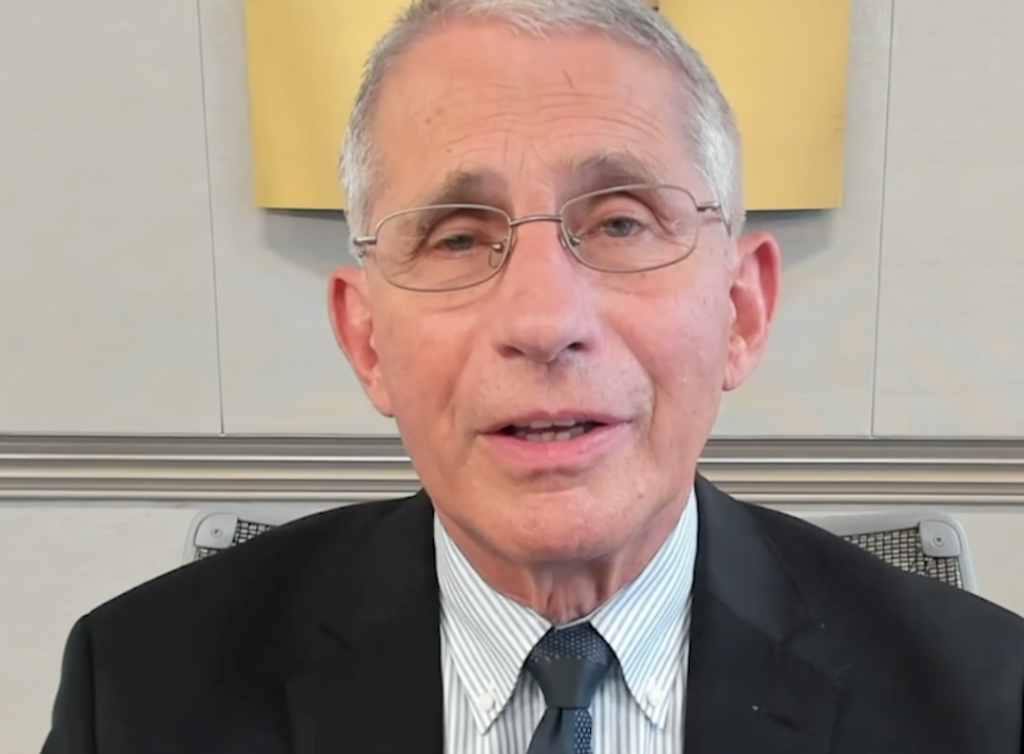 Dr. Anthony Fauci 3.34.33 PM