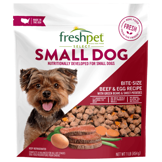 Small-Dog-Meals_Freshpet-Select-Small-Dog-Bite-Size-Beef-Egg-Recipe-1lb_6-27975-01293-9_-FRONT-1024x1024-1